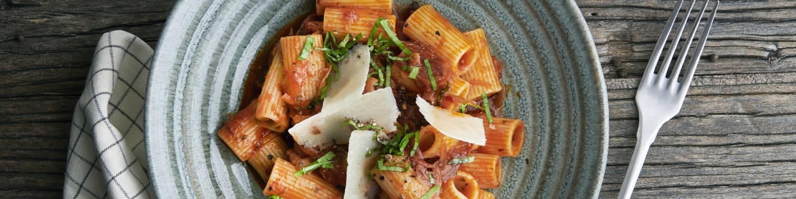 Pasta Garofalo - Rigatoni Garofalo amatriciana