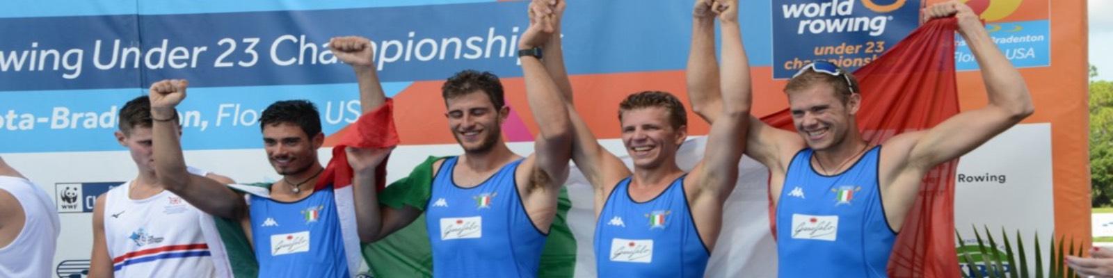 Pasta Garofalo is the pasta of rowing champions