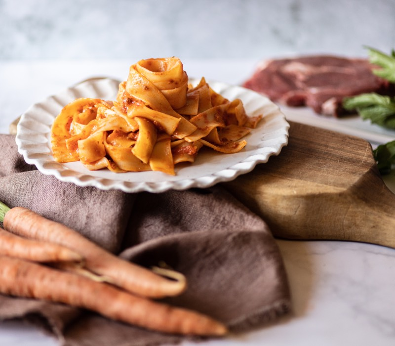 Pasta Garofalo - Pappardelle with Bolognese Sauce